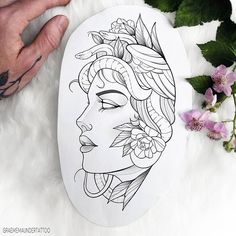 Discover recipes, home ideas, style inspiration and other ideas to try. Medusa Tattoo Design, Tattoo Design Drawings, Tattoo Sketches, Tattoo Designs, Tattoo Artists Near Me, Famous Tattoo Artists, Female Tattoo Artists, Face Tattoos For Women, Tattoos For Guys