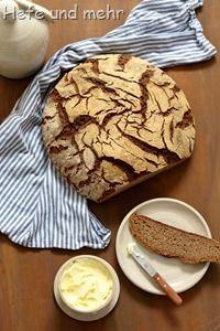 Würziges Kartoffel-Roggenbrot - ein Brot mit 100% Roggen