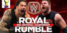 WWE Roman Reigns vs Kevin Owens Universal Champion WWE Royal Rumble 2017