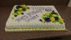80th! Cake  Kents market clearfield UT