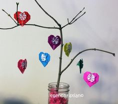 Easy #DIY #ValentinesDay Tree #Craft