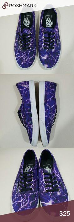 Lightning/galaxy vans Men's size 4 women's size 5.5 Vans Shoes