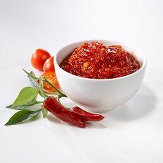 Tulinen tomaattihillo