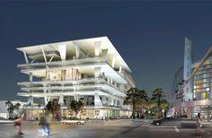 Herzog and De Meuron Miami Parking Garage  #architecture #demeuron #herzog Pinned by www.modlar.com