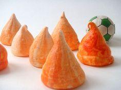 Oranje meringues