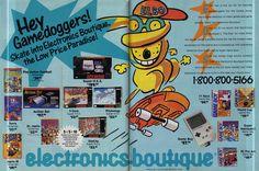 Electronics Boutique Ad