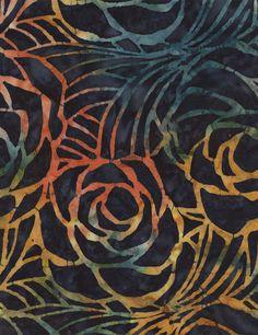 Sangria Batik BOM Quilt -  Includes Backing!