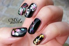31DC2014 Metallic: Foil Flowers