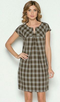 Look and cut wouldn't work for me. - Look and cut wouldn't work for me. – Look and cut wouldn't work for me. Simple Dresses, Cute Dresses, Casual Dresses, Short Dresses, Fashion Dresses, Summer Dresses, Check Dress, Dress Skirt, Plaid Dress