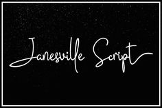 Janesville Script (50% Off) by Fargun Studio on @creativemarket
