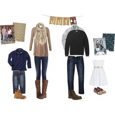 #peartreegreetings helps you with what to wear for your family photos!
