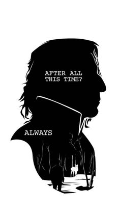 One of my favorite one word lines from Snape
