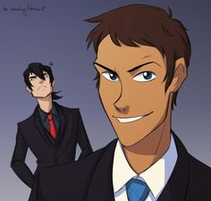VLD fan art - Lance & Keith Suits up!