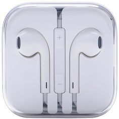 Apple Earpods with Remote and Mic ($39) ❤ liked on Polyvore featuring accessories, tech accessories, electronics, phone, headphone earbuds, ear bud headphone, white earbuds, white headphones and earbud headphones