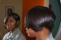 #Short Hair styles, #Natural Hair Care VA