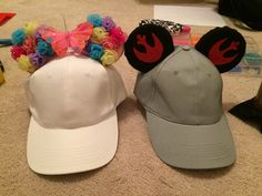 Make your own Mickey ear hat!