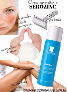 Serozinc resenha - como usar o spray matificante para pele oleosa da La Roche Posay, que também trata pele com acne e muito mais! Tem resenha completa no blog e no canal do Youtube