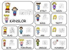 Learn Swedish, Swedish Language, Preschool Songs, Sign Language, Comics, Learning, Kids, Grammar, Henna