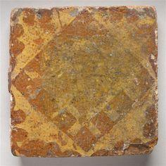 Carreau de pavage PÉRIODE 13e siècle SITE DE PRODUCTION France (origine) TECHNIQUE/MATIÈRE céramique (matériau) , terre cuite DIMENSIONS Hauteur : 0.13 m Largeur : 0.13 m