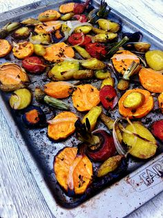 Roasted Heirloom Carrots With Rosemary and Leeks or Sweet Potato heirloom carrot, sweet potato