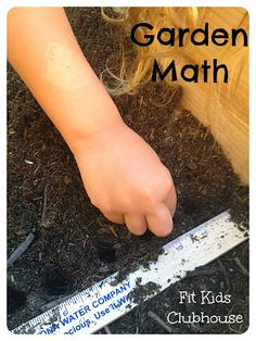 Learning Math concepts while Gardening with Preschoolers.