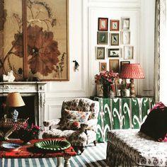 Carolina Irvings Paris apartment