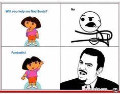 Memes funny text guys new ideas Really Funny Memes, Stupid Funny Memes, Funny Relatable Memes, Funny Posts, Rage Comics, Funny Comics, Memes Humor, Dora Memes, Dora Funny