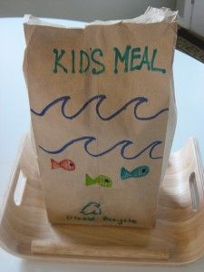Make your own fast food kids meal with healthier options for a fun lunch at home.