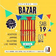 Ven🚀 acompañanos a #bazarencalleclub. Dispondremos punto de venta 💳