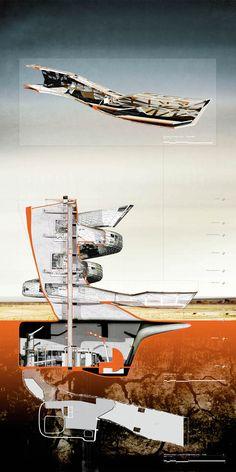 arkitekcher:   Piscitello Salt Flat Hybrid [Section 3] | Michael Carmello Location: San Andreas Fault Line, Salton Sea