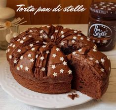 TORTA PAN DI STELLE CON IL BIMBY Tart Recipes, Sweet Recipes, Torta Angel, Super Torte, I Companion, Confort Food, Delicious Desserts, Yummy Food, Ricotta