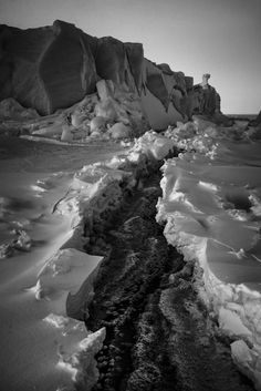 Poetic Black & White Pictures of the Far North by Laurent Baheux