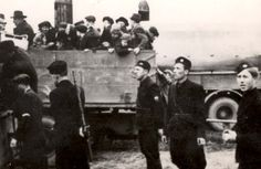 Stropkov, Slovakia, Deportation of Jews by the Slovakian militia Clara Bow, Lest We Forget, Never Again, Back In Time, Classic Films, World War Two, Historical Photos, Black And White Photography, Wwii