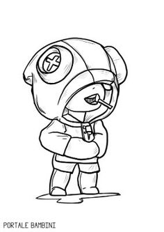 The Effective Pictures We Offer You About Brawl Stars Coloring Pages A quality picture can tell you Pencil Art Drawings, Kawaii Drawings, Disney Drawings, Star Coloring Pages, Boy Coloring, Star Doodle, Skin Drawing, Black And White Comics, Star Logo