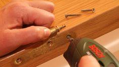 Cómo lacar una puerta de madera - Paso 1 Painting Tips, Deco, Boutique, Moldings, Vestidos, Painted Doors, Painted Furniture, Saw Horses, Interior Garden