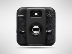 Lomo Icon by Peter Shcherbanos, via Behance Web Design, App Icon Design, Blog Design, Graphic Design, 3d Icons, Flat Icons, Top Icon, Launcher Icon, Apple Icon