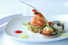 Seafood amouse bouche