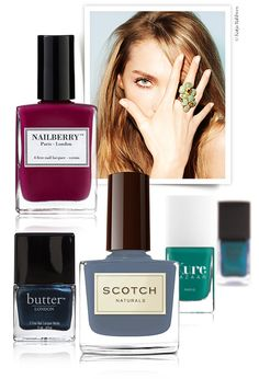 Nails go green, eco nail polishes, manicure, environmentally friendly nail products, beauty, make-up