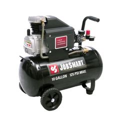 JobSmart 1.4 HP 10 Gallon Portable Oil Lubricated Horizontal Air Compressor - Tractor Supply Online Store #FathersDay