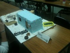 Redneck Gingerbread Trailer House