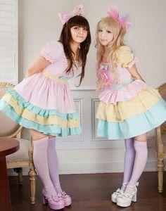 Fairy Kei and Lolita!