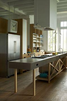 Towering Achievement  Gardens Steel And House Design Fair Garden Kitchen Design Inspiration