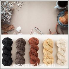 Expression Fiber Arts, Inc. - COFFEE AND CROISSANT HUES - Limited Edition Cotton Kit, $69.51 (http://www.expressionfiberarts.com/products/coffee-and-croissant-hues-limited-edition-cotton-kit.html)
