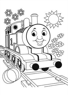 20 Thomas The Train Coloring Pages Your #Toddlers :Their coloring pages are very popular with kids of all ages. Here are 20 Thomas the train coloring sheets for your kids