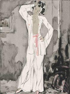 [MERCIER (Jean A.)] COLETTE : La Chatte. P. Arthème Fayard 1945. In-8° en ff, sous chemise et étui.