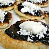 Griddle Cakes, Czech Recipes, I Foods, Pavlova, Sweet Recipes, Cheesecake, Deserts, Dessert Recipes, Food And Drink