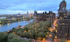 East End Avenue by night : Upper East Side - Manhattan - New York East River, Upper East Side, Home Nyc, Young And Rich, Lenox Hill, Manhattan New York, Central Park, Ny Times, Great Places