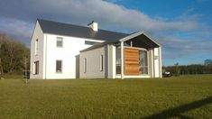 Rathnaleen 2008 by Darragh Quinn Architects House Designs Ireland, Zinc Cladding, Passive Solar, House Extensions, Types Of Houses, New Builds, Minimalism, House Plans, Outdoor Structures