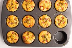 Recipe: Ham and Cheddar Lunch Box Muffins — Quick and Easy Lunch Recipes