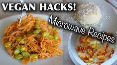 VEGAN FOOD HACKS YOU NEED TO TRY (microwave/dorm-friendly)  #Food #Hacks #microwavedormfriendly
